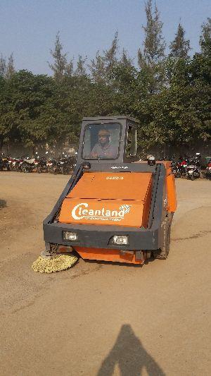 Plant Sweeping Machine