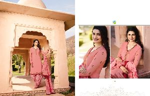 Silkina Royal Crepe Patiala Work Suit
