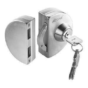 Strike Box Glass Door Lock
