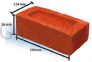 Handmade Red Burnt Clay Brick