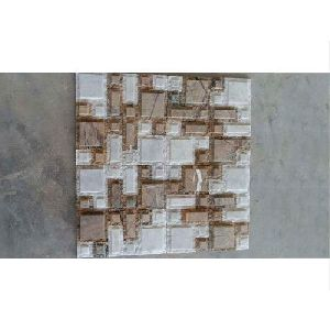 Biscuit Pattern Mosaic Wall Claddings