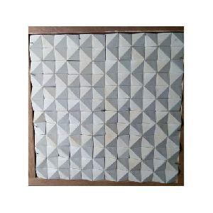 Mint Diamond Pattern Wall Claddings