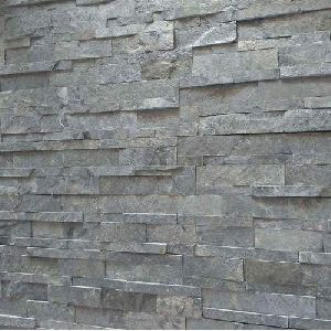 Silver Shine Slate Stone Wall Claddings