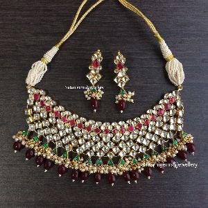 Jhalar Necklace Set