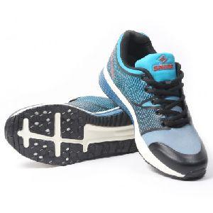 Sagma Mens Grey Seagreen Breathable Shoes