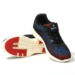Sagma Mens Red Blue Breathable Shoes