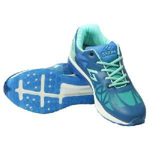 Sagma Mens Seagreen Blue Breathable Shoes