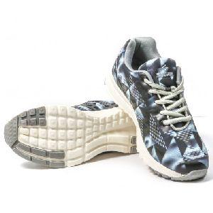Sagma Womens Black Grey Breathable Shoes