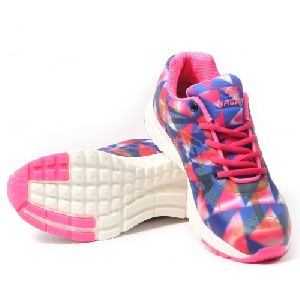 Sagma Womens Blue Pink Breathable Shoes