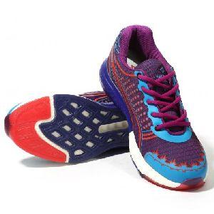 Sagma Womens Purple Blue Breathable Shoes