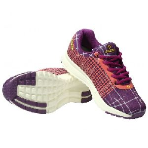 Sagma Womens Purple Dark Pink Breathable Shoes