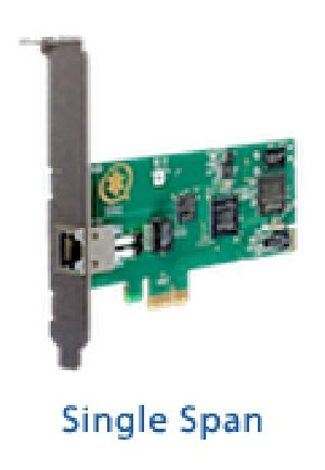 Digital Telephony Cards Single Span