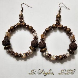 Dzi Agate Earrings
