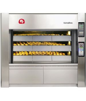 Steam Tube Baking Ovens Deck