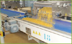 Short Cut Pasta Storage Section