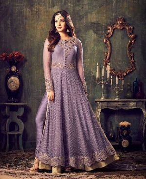 Embroidered Partywear Salwar Suit