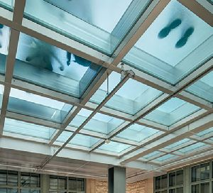 Safety-rated Glass Floor System