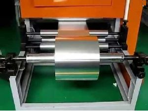 Aluminium Foil Cutting Machine