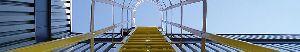 Steel hand rails