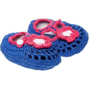 Handmade Baby Girl Crochet Shoes