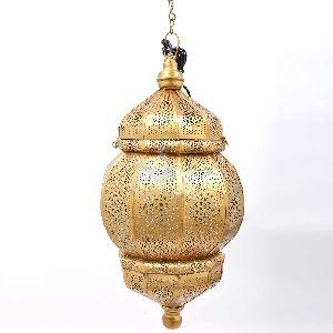 GOLDEN IRON LAMP