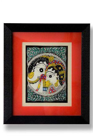 Framed Radha Krishna