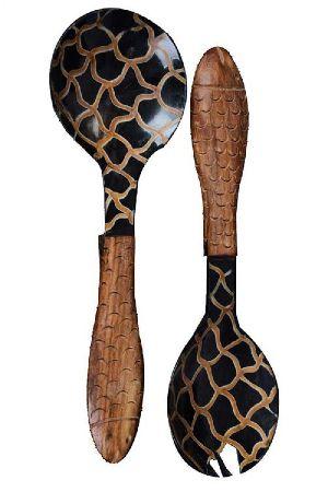 Horn Serving Spoon
