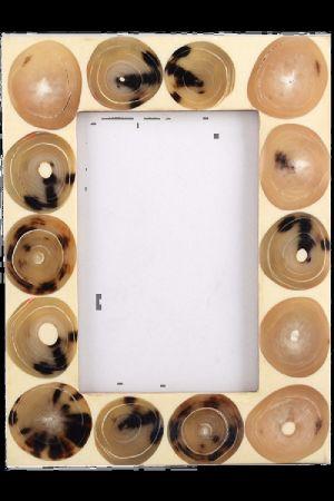 Natural Horn Photo Frame