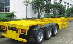 Triple Axle Heavy Skeletal Trailer