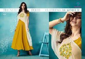 Arihant Designer Party Wear Long Kurti