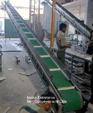 Inclined Belt Conveyor Systemsr