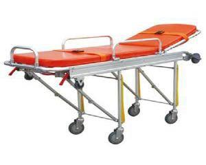Adjustable Back Rest Ambulance Stretcher