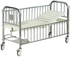 Hf1893 - Semi-fowler Bed For Children, With Side Railings