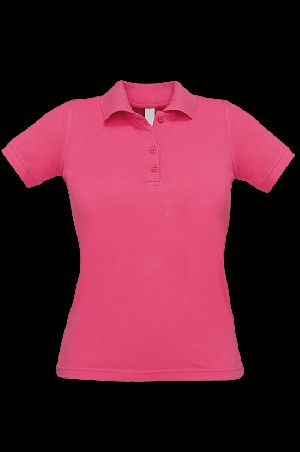 Women Collar T-shirt