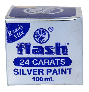 24 Carats Silver Paint