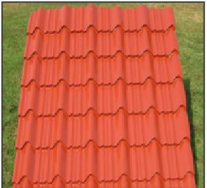 Pre Painted Gi Aluzinc Galume Tile Profiled Steel