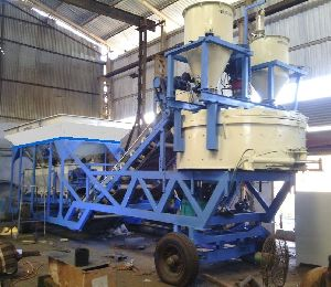 M 28 Pan Type Mobile Concrete Batching Plant
