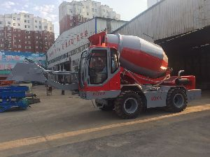 NOVA 4000 Self Loading Concrete Mixer