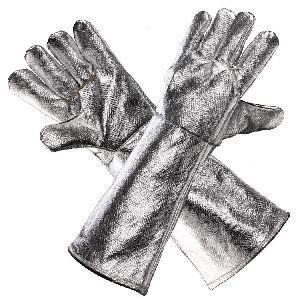 Heat Resistant Aluminised Gloves