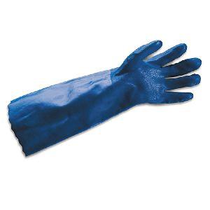 PVC Guntlet Gloves