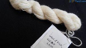 Silk Wool Knitting Yarn