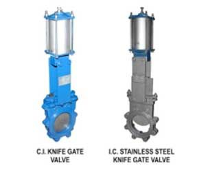 Pneumatic Knife Gate Valves Manufacturers Suppliers