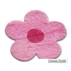 Cotton Flower Shaped Bath Mats