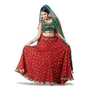 Cotton Ghagra Choli