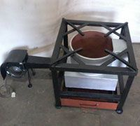 Wood Fired Gas Stove