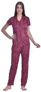 Ladies Night Suit With Shorts