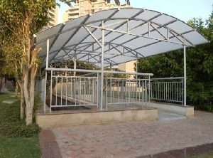 Entrance Canopies Of Residential Complexes