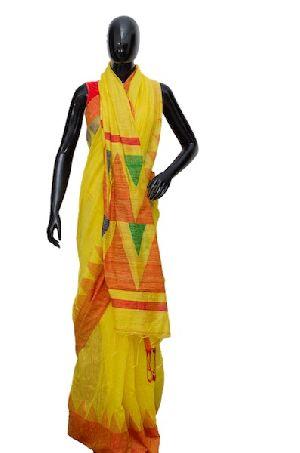 Handloom Bengal Pure Silk Matka Saree