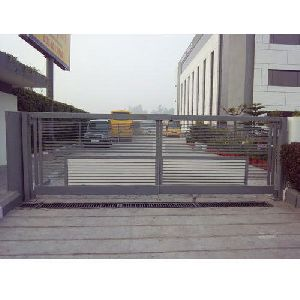 Stainless Steel Sliding Gate Fabrication Services