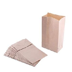 Plain paper bags and packets